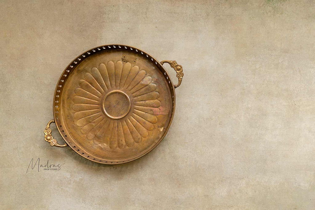 Antique Brass Trays/Plates- Type 2