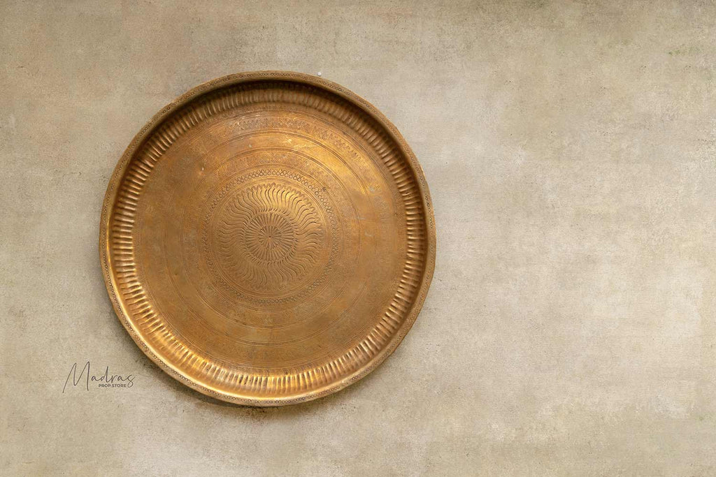 Antique Brass Trays/Plates- Type 14