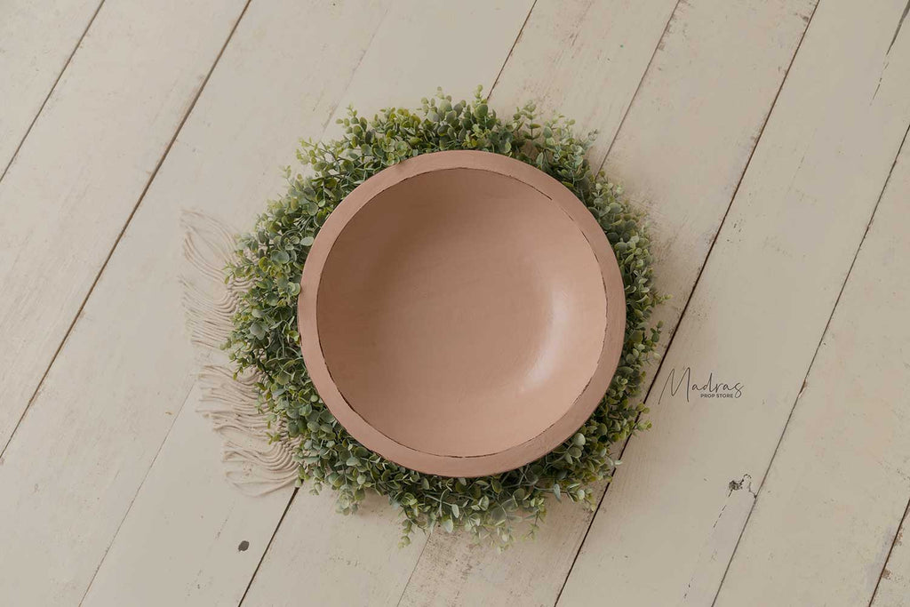 Rustic Wooden Bowl