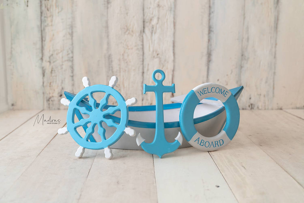 Sailor Theme Props Set of 3
