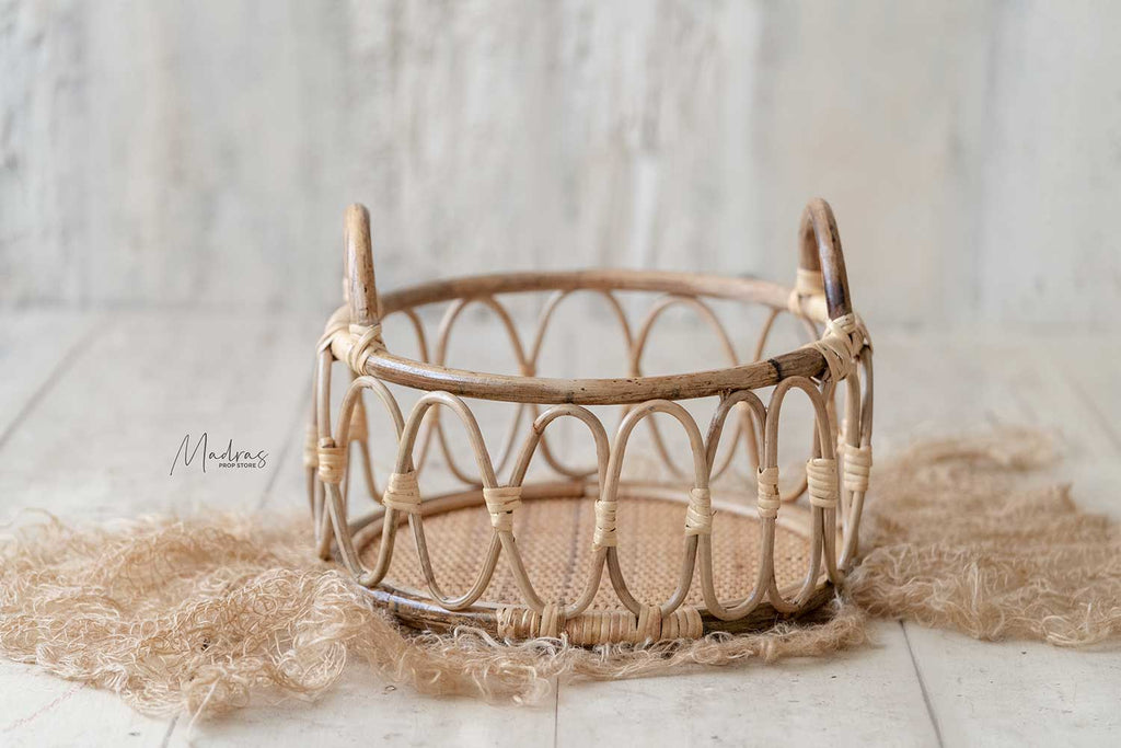 Wicker Farmers Basket