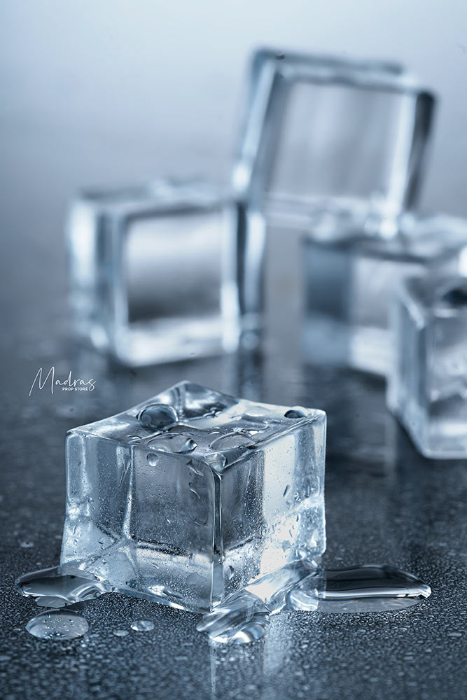 Set of 5 Real Looking Fake Ice Cubes