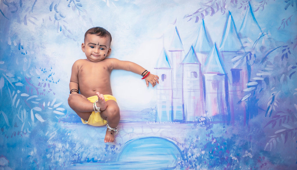 Dream Castle - Baby Printed Backdrops