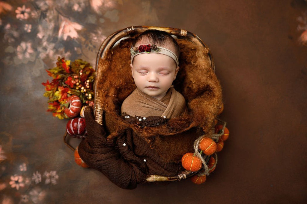 Fall Backdrop - Baby Printed Backdrops