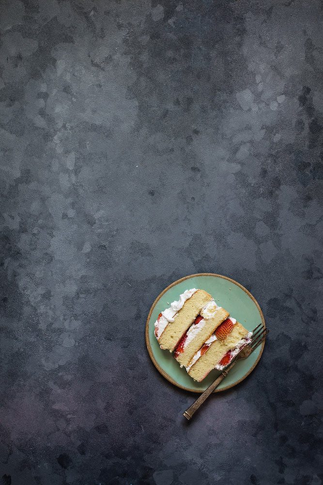 Frosted Glass - Painted Food Backdrops