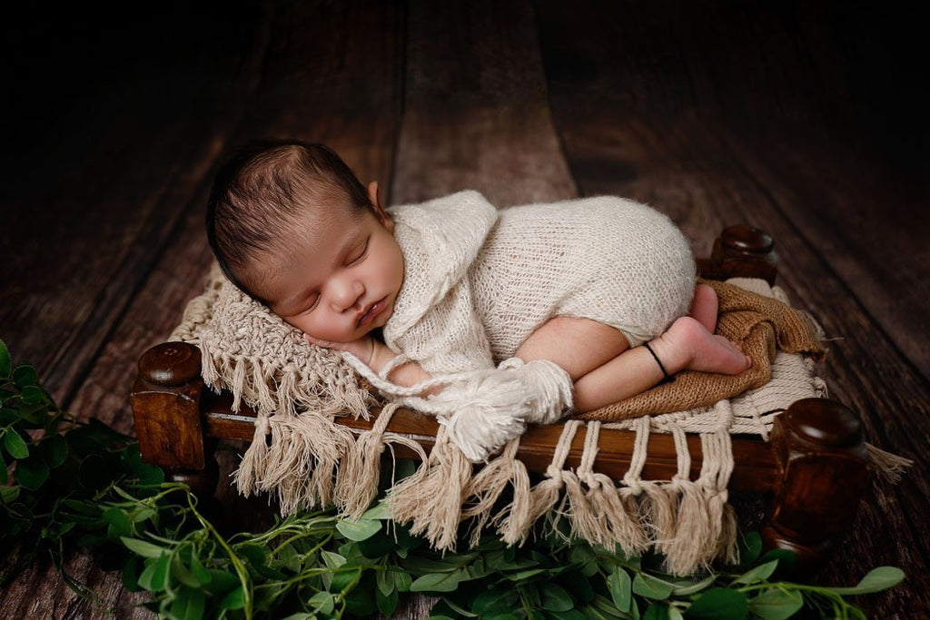 Knotty Wood - Baby Printed Backdrops