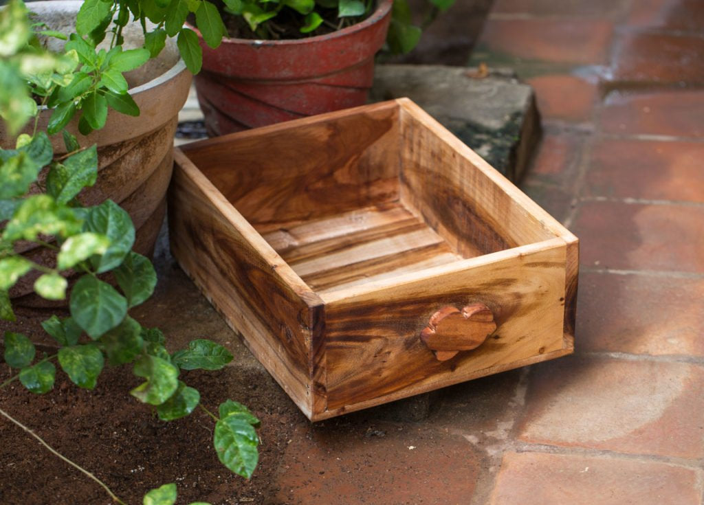 Crate with Cloud Handle