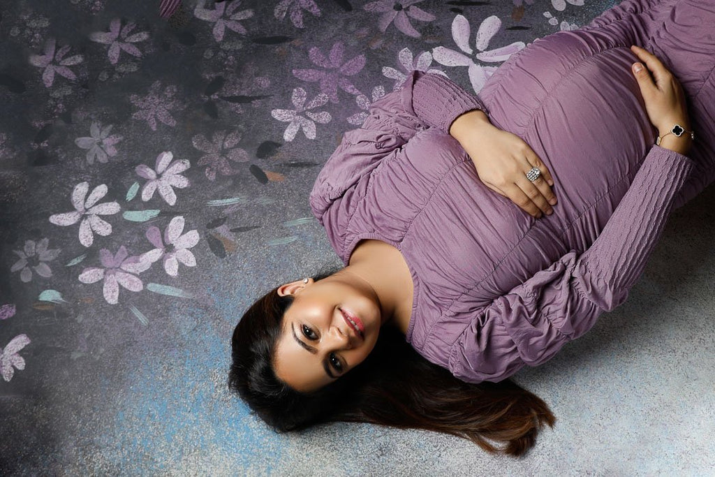 Floral Spray - Maternity Backdrops