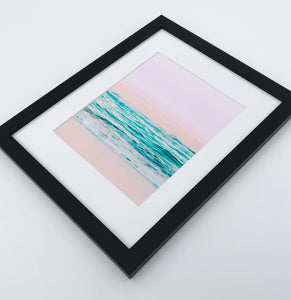 A photo print of an azure ocean 1