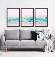 Load image into Gallery viewer, Three photo prints of an azure ocean 3