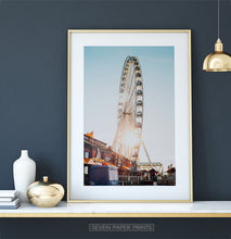Load image into Gallery viewer, Color Ferris Wheel Print