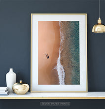 Load image into Gallery viewer, Large Aerial Beach Print