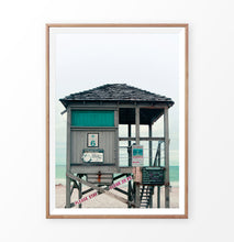 Load image into Gallery viewer, Lifeguard Tower on the California Beach