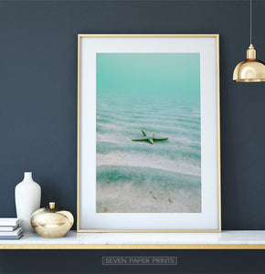 Deep Sea Starfish Wall Art Print