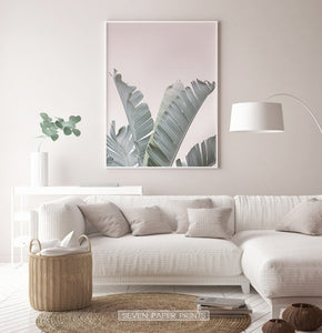 Banana Leaf Print for Living Room
