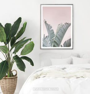 Green Foliage Tropical Wall Art