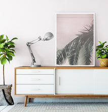 Load image into Gallery viewer, Retro Palm Tree Leaves Wall Art