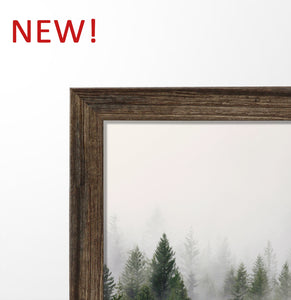 New wooden frame is available!