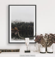 Load image into Gallery viewer, Black&White Framed Photo Art Above The White Marble Shelf
