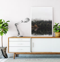 Load image into Gallery viewer, White-framed on a wooden cabinet