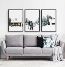 Load image into Gallery viewer, Three photo prints with winter landscapes 3