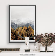 Load image into Gallery viewer, Black-framed above the white table