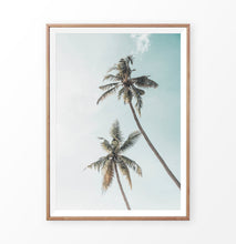 Load image into Gallery viewer, California Palms Tropical Wall Art Print