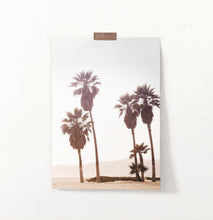 Load image into Gallery viewer, California Palm Trees on Seaside Wall Art