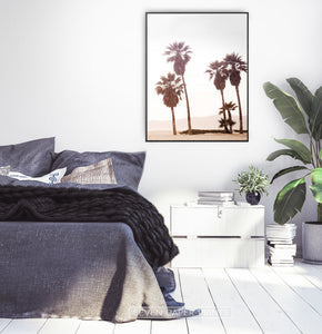 Extra Large Palm Wall Art for Bedroom