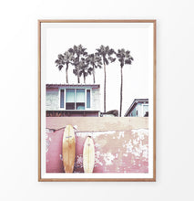 Load image into Gallery viewer, Surfer Beach House with Boards