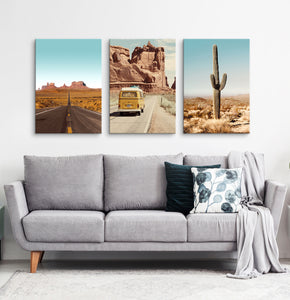 Colorado wall decor. 3 piece canvas #188