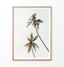 Load image into Gallery viewer, Warm color palm tree print