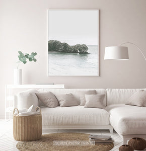 Sea Rock Minimalist Wall Art