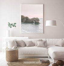 Load image into Gallery viewer, Stacked Rocks Wall Art with Coastal Beauty