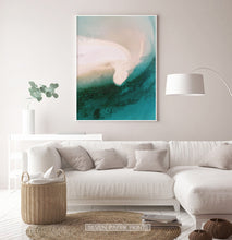 Load image into Gallery viewer, Sandbank Of Fenfushi Maldives Shore Photo Art