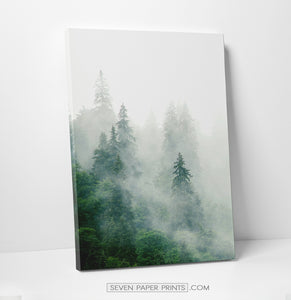 A first piece of foggy green forest set, got some more green of a left-bottom corner