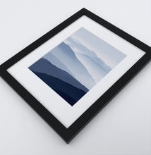 Load image into Gallery viewer, Framed Print of a Foggy Mountain Landscape