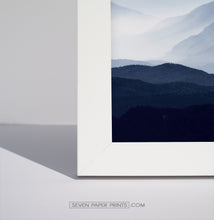 Load image into Gallery viewer, A corner of a white frame.
