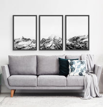 Load image into Gallery viewer, Three photo prints of snowy mountains 3