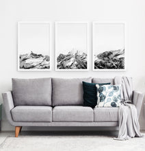 Load image into Gallery viewer, Three photo prints of snowy mountains 4