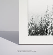 Load image into Gallery viewer, Winter 6 piece gallery wall - moose, deer, forest, cabins