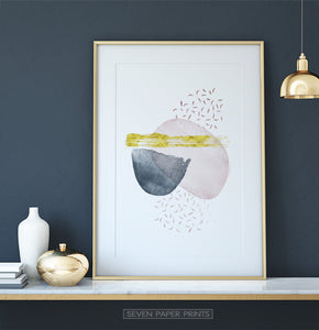 Beautiful Abstract Print for Dressing Table