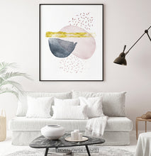 Load image into Gallery viewer, Abstract Wall Decor for White Living Room
