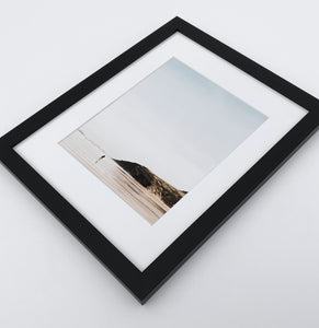 Black-framed Coastal Photo Print