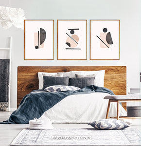 King Size Bed Wall Art Set