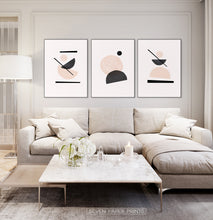 Load image into Gallery viewer, Modern art poster minimalist print for Living room