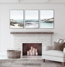 Load image into Gallery viewer, Triptych Ocean Wall Art Print
