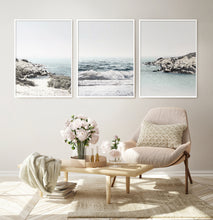 Load image into Gallery viewer, Coastal Beach Triptych