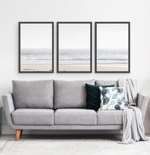 Load image into Gallery viewer, Three framed photo prints of an ocean coast 3