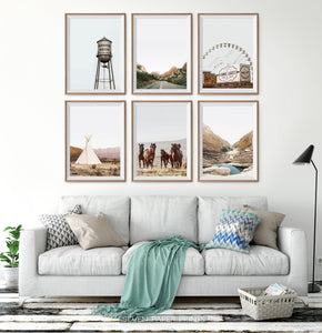 Nature Beauty 6 Piece Wall Art